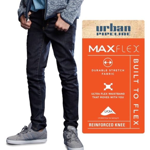 d0dccb0cff1 Urban Pipeline Skinny Stretch Denim MaxFlex Knee